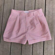 Paul and Joe Women's Shorts Polka Dots Cuffed Tan Sz 44 US 14