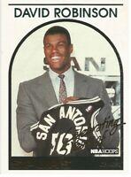 David Robinson Celebrating 5 Years of Hoops 1993/94 NBA Basketball Card