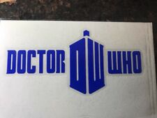 Dr Who Logo Decal Sticker Window Car Truck Jeep Suv Laptop