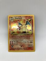 Pokemon Base Set 1995 Charizard 4/102 Rare Holo Foil
