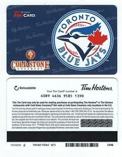 Tim Hortons CANADA MLB Baseball RELOADABLE GIFT CARD - 2013 Toronto Blue Jays