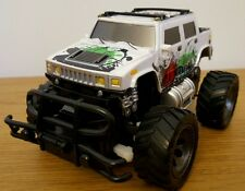 MONSTER TRUCK HUMMER Radio Remote Control Car  FAST SPEED Scale 1:24 18CM WHITE