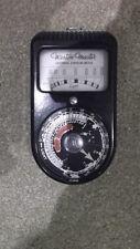 Vintage Weston Master Emulsion Light Meter S74/715 model working