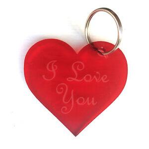 Origin - San Valentín Aniversario, Grabado 'I Love You ' Llavero, Regalo