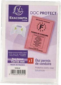 Etuis pour Permis de Conduire Format Européen PVC Lisse PERMIS EUROPE