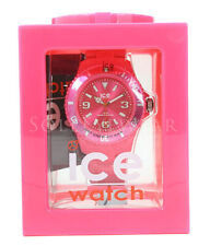NEW Ice 102129 Solid Pink Silicone Unisex Watch NO BOX