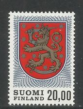 Finland 1978 Heraldric Lion 20m definitive--Attractive Topical (470A) MNH