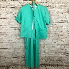 New listing Deadstock Mint Green Petrina Dress Outfit Belted Jacket Size 12 Nwt 1980s