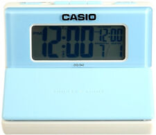 Casio DQ542-7D Blue LED Light Digital Travel Alarm Clock with Snooze NEW