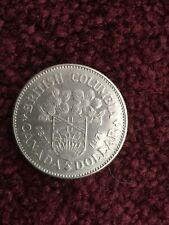1871-1971 BRITISH COLUMBIA CANADA DOLLAR