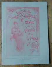Calendrier du Journal des Demoiselles 1905, Imp.G de Malherbe, Paris