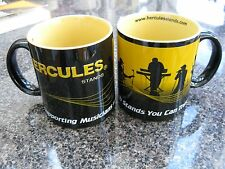 Set of Hercules Stands Coffee Mugs, Brand New, Great Musicians Gift, Striking!