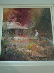 ORIGINAL OIL PAINTING - AUTUMN COLOURS BY BENDIGO ARTIST - GEOFF PAYNTER