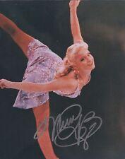 Nicole Bobek USA Figure Skater Olympian Hand Signed 8x10 Autographed Photo W/COA