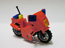 LEGO City Red Motorcycle Firefighter  Hero NEW  Loose
