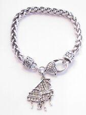 Piano Crystal Fashion Chain Bracelet Jewelry Music Recital Gift