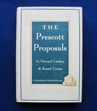 The Prescott Proposals wi LETTER SIGNED by EDNA FERBER to KATHERINE CORNELL