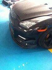Carbon Fiber Canard M style For 2012 Nissan Skyline GTR R35 Front Bumper