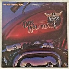 """Autographed Doc Holliday """"Doc Holliday Rides Again"""" Vinyl"""