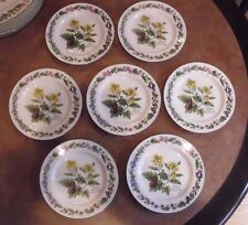 """ROYAL WORCESTER-WORCESTER HERBS CHINA Bread & Butter Plate """"Black Mustard"""""""