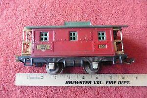 Vintage LIONEL lines Pre War no 807 Caboose metal train