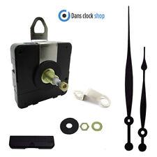 Quartz High Torque Non Ticking Clock Movement Mechanism 208mm Hands 20mm Shaft