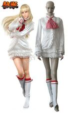 Tekken 6 Lili White Lolita Dress Game Cosplay Costume