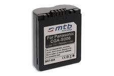 Batería tipo CGA-S006 para Panasonic Lumix DMC-FZ7, FZ8, FZ18, FZ28, FZ30, FZ35