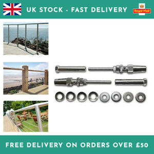 Self-Assembly 4mm Wire Kit For Stainless Steel or Timber Handrail Balustrade