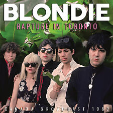 BLONDIE New Sealed  2018 UNRELEASED LIVE 1982 TORONTO & MORE CONCERT CD