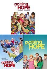 Raising Hope: The Complete Season series 2, 3 & 4 DVD R1 New & Sealed