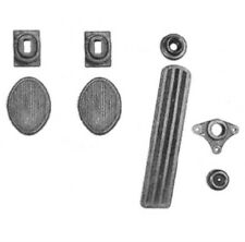 Pedal & Draft Seal Set for 1954-1956 Dodge Trucks