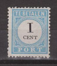 D1P3 Port nr.3 tanding D type 1 MLH NVPH Netherlands Nederland due portzegel