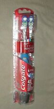 COLGATE 360 OPTIC WHITE PLATINUM ELECTRIC TOOTHBRUSH WITH EXTRA REPLACEMENT HEAD