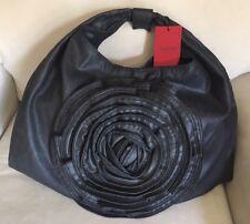 Valentino Denim Petale Rose Large Hobo - MSRP $1195