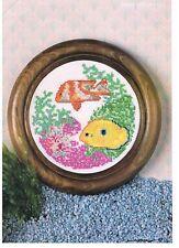 Mary Hickmott Cross Stitch pattern from magazine - CLOWN AND ANGEL FISH