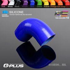 "40mm 1 5/8"" 90 Degree Hose Turbo Silicone Elbows Coupler Pipe Hose  Blue"