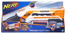Nerf Elite Rough Cut 2x4 Fucile Doppia Canna x Lanciare 2 Dardi Ricarica Rapida