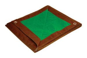 Foremost Tarp 11620 Water Resistant Brown/Green Reversible Tarp 16 x 20 ft.