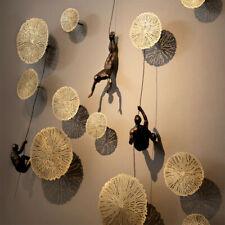 Global View Iron Man Climbing Rope Wall Mounted Art Sculpture Climber New