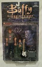 """BUFFY THE VAMPIRE SLAYER OZ IN DINGOES T-SHIRT BTVS 6"""" FIGURE....NEW ON CARD!"""