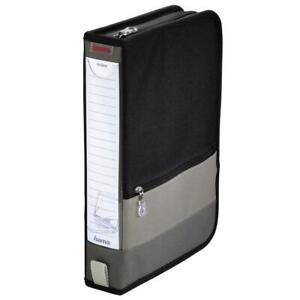Hama CD / DVD Office-Wallet / Tasche 64 Schwarz/Grau 84146