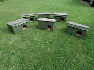 Hand Made Hedgehog Hotel Hibernation & Feeding Station