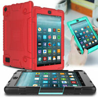 Shockproof Silicone Case For Amazon Kindle Fire HD 8 8th Generation 2018 Tablet