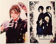 Kuroshitsuji Black Butler-CIEL SEBASTIAN ALOIS CLAUDE Postcard Photo Card Set #O