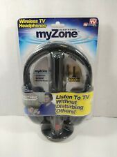 My Zone Wireless TV Headphones As Seen On TV.