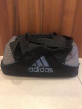 Adidas Black Sports Bag With Logo And Adjustable Shoulder Strap