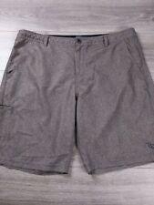 Da Hui Men's Size 40 Hybrid Collection Swim Casual Board Shorts Stretch Gray