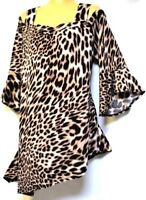 TS top TAKING SHAPE plus sz M / 18 - 20 Call Me Wild Tunic stretch NWT rrp$120!