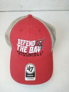 Tampa Bay Buccaneers 47 Brand DEFEND THE BAY Super Bowl Champions Cap/Hat - NEW!